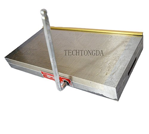 Techtongda Fine Pole Permanent Magnetic Chuck 8×16 inch For Grinding Machine by Techtongda magnetic chuck