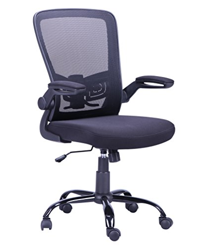 (New Mesh Chair Flip-Up Arm Drafting Table Chair Ergonomic Desk And Computer Chair)