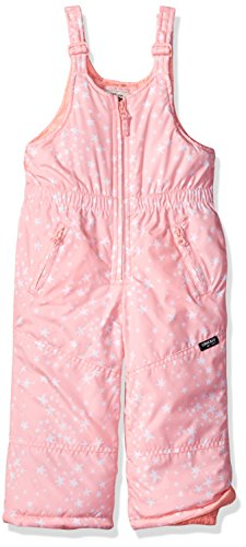 Osh Kosh Baby Toddler Girls' Best Snow Bib Snowsuit, Conch Shell Neon, 3T - Infant Snow Pants