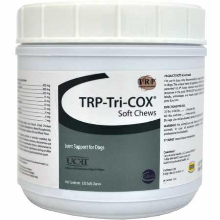 Tricox Trp Joint Support by VetOne - 120 Soft Chews, by Tricox