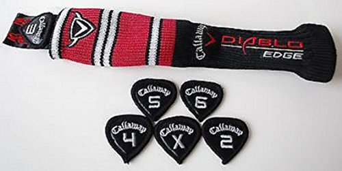 Callaway Diablo Edge Hybrid Rescue Sock HeadCover w/ set tags