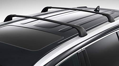 Toyota Genuine Highlander Roof Rack Cross Bar Set PT278-48170. 2 Black Cross Bars. 2014-2019 Highlander XLE, Limited & SE.