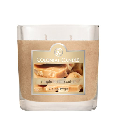 Colonial Candle Autumn Collection Maple Butterscotch 3.5-Ounce Jar Candle