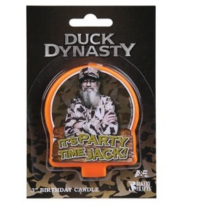 Duck Dynasty Uncle Si Birthday Cake Candle