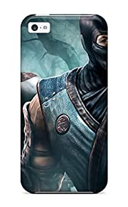 Premium Durable Kratos And Scorpion Fashion Tpu Iphone 5c Protective Case Cover
