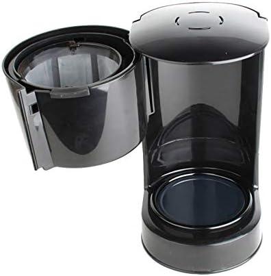 Y&J Cafetera De Filtro-Máquina De Café Diseño De 5 Tazas De Jarra Antigoteo Y Función De Calentamiento Embudo Extraíble para Una Fácil Limpieza: Amazon.es: Hogar
