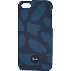 CRSHR Blue Camo iPhone 5 5S 5SE Phone Case.