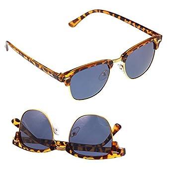 Chic-Net Gafas de sol Clubmaster 400 UV barra de metal ...