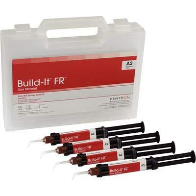 Build-It FR Automix Core Buildup Mini Mix Syringe Shade A3 4 mL Dual Cure 4//Package