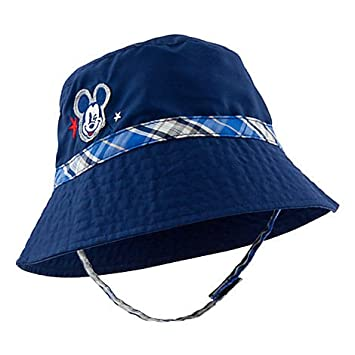 b352f654e0e Image Unavailable. Image not available for. Color  Mickey Mouse Boys Bucket  Sun Hat ...