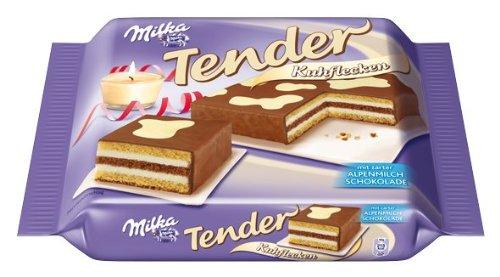 Milka Tender Kuchen Kuhflecken 1er Pack 1 X 400 G Amazon De