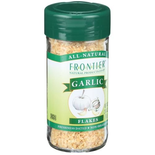 Garlic Frontier Flakes (Frontier Herb Garlic Flake, 2.64 Ounce - 6 per case)