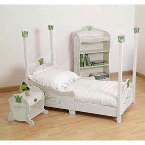 Baby Doll Bedding Regal Pique Toddler Bedding Set, White