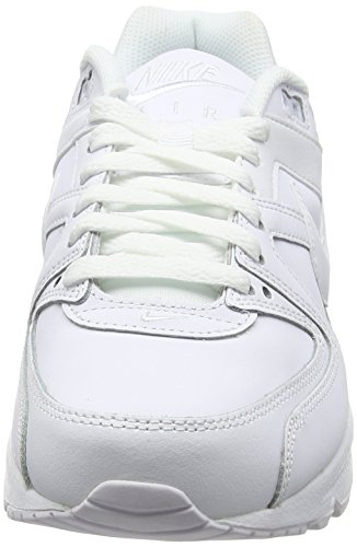 Command Ginnastica Max White White Bianco Scarpe Metallic Leather NIKE Uomo da Silver Air 5OwEYOqf