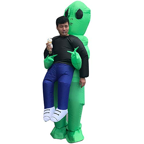 ET Alien Inflatable Suit Unicorn Fancy Costume Halloween Cosplay Fantasy Costume -