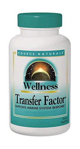 (SOURCE NATURALS Wellness Transfer Factor 125 Mg Vegetable Capsule, 60 Count )