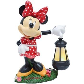 Amazon Com Disney Ldg88068 Mickey Solar Statue Outdoor