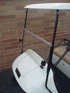Clear windshield for ezgo txt golf cart 1995 for Golf cart garage door prices