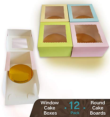 (CooKeezz Couture - Window Cake Boxes 8