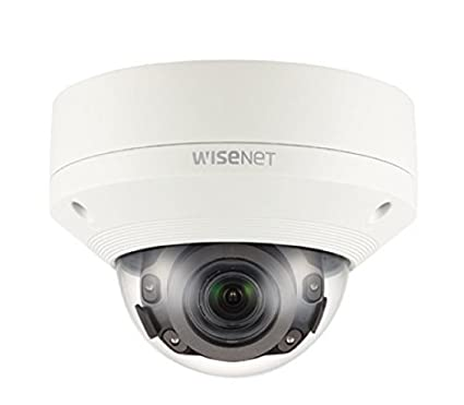 Samsung XNV-8080R 5MP 4K red IR al aire libre cúpula cámara CCTV 3.9 ~