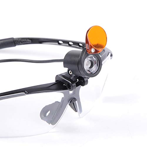 Wotefusi 1W LED Headlight with Yellow Filter Medical Surgical Head Lamp for Dental Stomatology by Wotefusi (Image #2)