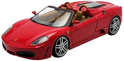 2006 Ferrari F430 Spider Diecast Model Car 1:18 Scale Diecast By Hot Wheels