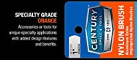 Century Drill and Tool Coarse Nylon Abrasive Flap Brush