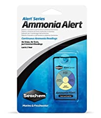 Ammonia Alert is an innovative color device for continuously detecting and monitoring toxic free ammonia. A sensor changes reversibly from Yellow to green to Blue, relative to the ammonia concentration. No test Kits, chemicals, or procedures ...