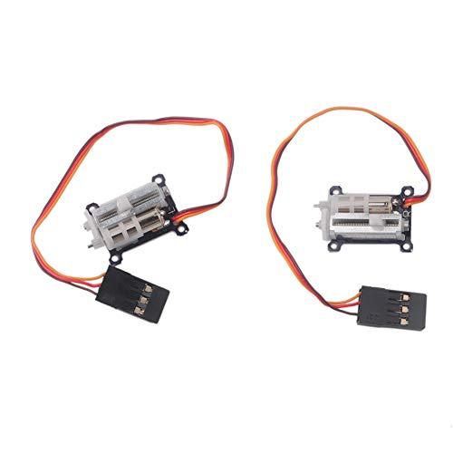 1 Pair Digital Ultra Micro 1.5g Linear Servo Tiny for Aircraft Servo Tester