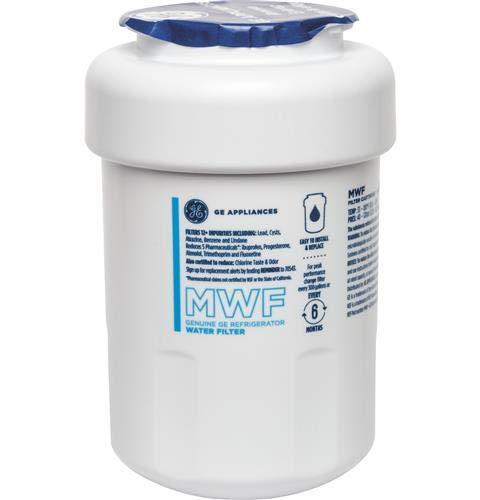 GE SmartWater MWF Refrigerator Water Filter, (Hotpoint Refrigerator Review)