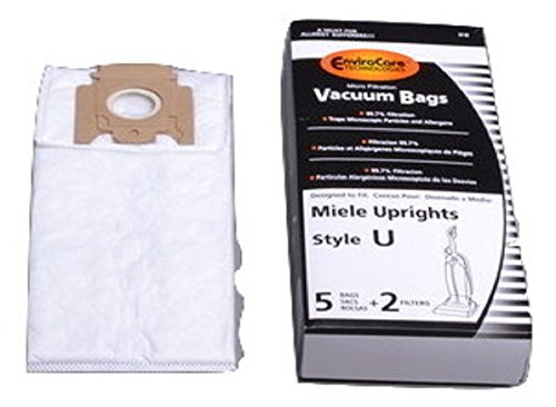 Miele Upright 7000 Style U Allergen Paper Bags 5 PK # 210