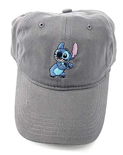 (Disney Adult Lilo Stitch Grey Baseball Cap Hat)