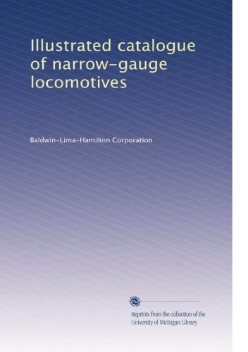 Illustrated catalogue of narrow-gauge locomotives