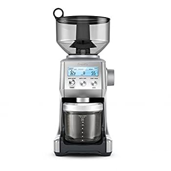 Image of Breville BCG820BSSXL The Smart Grinder Pro Coffee Bean Grinder, Brushed Stainless Steel