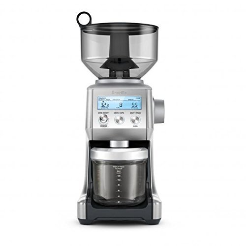 (Breville BCG820BSSXL The Smart Grinder Pro Coffee Bean Grinder, Brushed Stainless Steel)