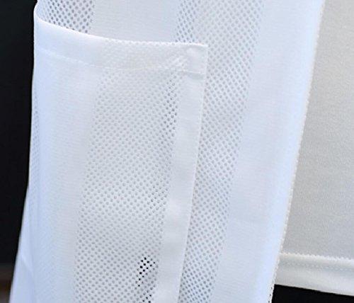 Attivo Esterna Proteggere Rapida Cappotto A Della Leggero Della Solare Uv Bianca Asciutta Degli Uomini Protezione Pelle Sicurezza wgTZPT