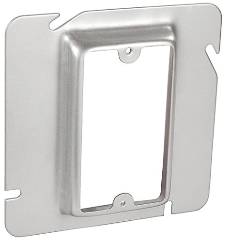 UPC 785592722348, 4-11/16 Inch Square One Gang 5/8 Inch Raised Device Ring-10 per case