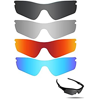 282875b66b Fiskr Anti-saltwater Replacement Lenses for Oakley Radar Path Sunglasses 4  Pairs Pack
