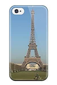 New YstlwrI2869jvjJA City Of Paris Skin Shatterproof Case For Iphone 4/4S Cover