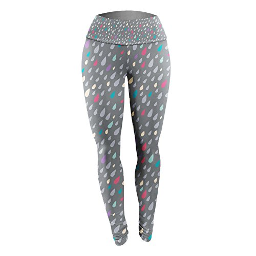 Queen of Cases - Legging de sport - Femme gris gris taille unique