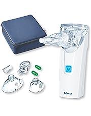 Beurer IH 55 Inhaliergerät / Vernebler mit Schwingmembran-Technologie / tragbar und leise / Selbstreinigungs-Funktion / medizinischer Inhalator / bei Erkrankungen der Atemwege