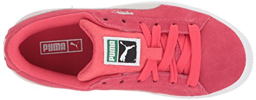 PUMA Baby Suede Classic Kids Sneaker, Paradise Pink White, 10 M US Toddler