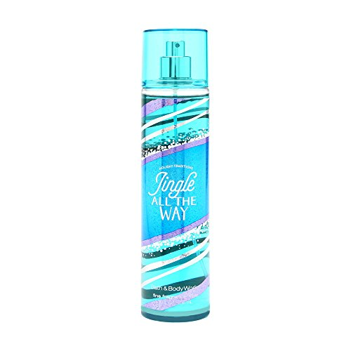 Bath and Body Works Fine Fragrance Mist Jingle All The Way Spray 8 Ounce (Body Way Spray)