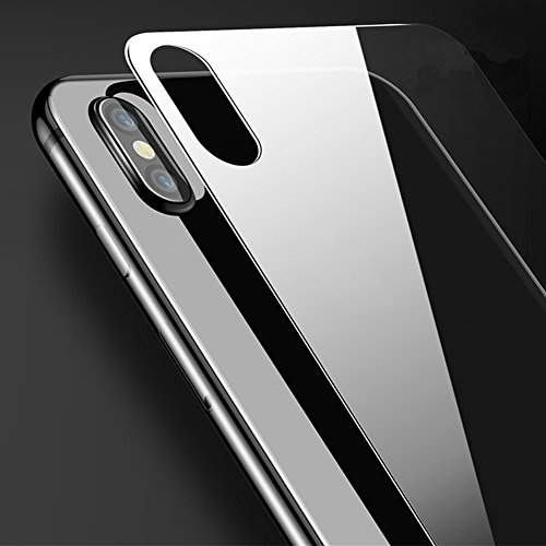 [3-Pack] -IPhone X Back Screen Protector 2.5D Ultra Tempered Glass For iPhone X Back 9H Screen Cover Glass Protective Film For iPhone X Back Glass Film (Protective Back Cover)