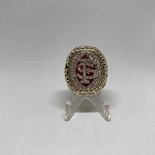 2014 Roberto Aguayo Florida State Seminoles FSU High Quality Replica 2014 ACC Championship Ring Size 9.5-Gold Colored