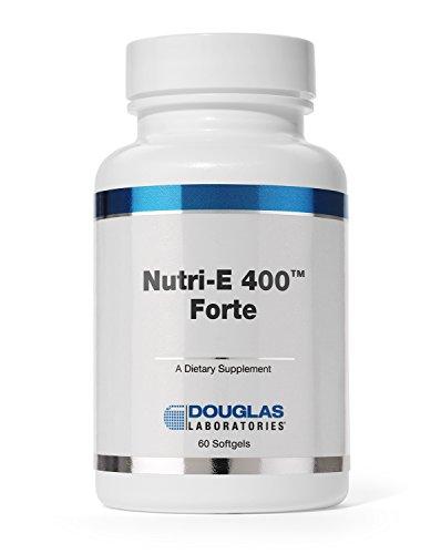 Douglas Laboratories - Nutri E-400 forte - Vitamin E Antioxidant Support for Oxygenation, Liver, and Immune Function* - 60 Capsules