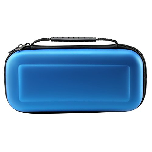 MouKou Nintendo Switch Carrying Case Protective Storage Bags(Blue)