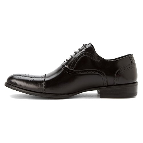 Stacy Adams Mens Gibson Cap Toe Oxford 20152 Noir