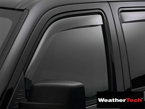 (Fits Brightt (WEA-HBJ-780) Side Window Deflector Visor Rainguard Front Light Tint Front Only - fits Toyota T100 Extended Cab - 1997 1998 | 97 98)