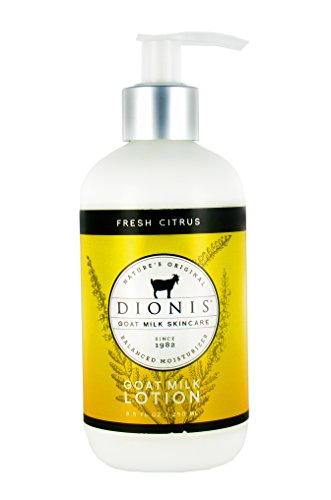 - Dionis Goat Milk Skincare Lotion (Fresh Citrus, 8.5 oz)